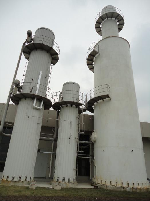 铝箔轧制油废气回收装置